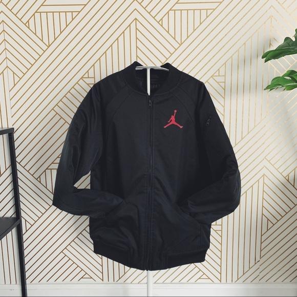 c4d40826fab3 Nike Jordan Wings MA-1 Youth Bomber Jacket